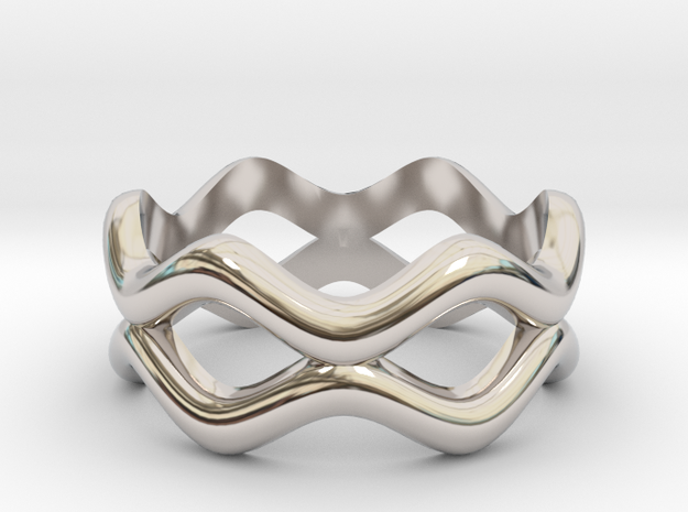 Weave Band 3d printed