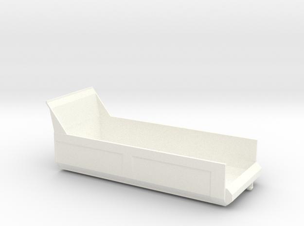 Tippdumper8x4wsi in White Processed Versatile Plastic