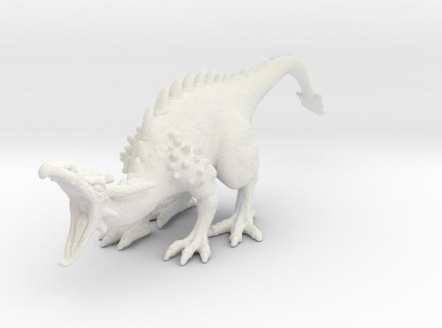 Dragonroar Nowings in White Natural Versatile Plastic