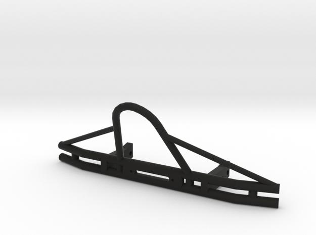 SCX-10 Tube Bumper (6.5in) in Black Natural Versatile Plastic