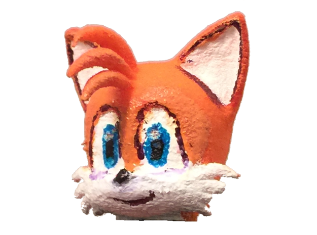 Custom Tails The Fox Inspired Lego