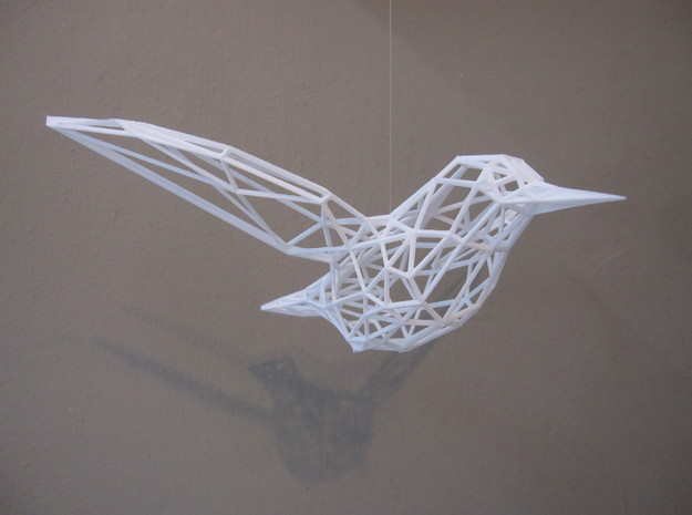 Humming Bird 3d printed