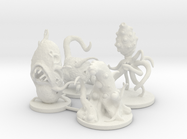 Microvores: Microorganism Miniatures