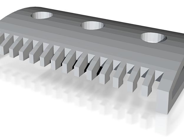 Haymarket: Comb - Railed 3d printed