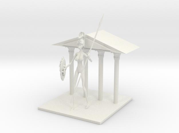 Athena Stature 2 in White Natural Versatile Plastic