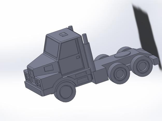 3-Axle Dump-Semi Trailer 1/285 6mm 3d printed