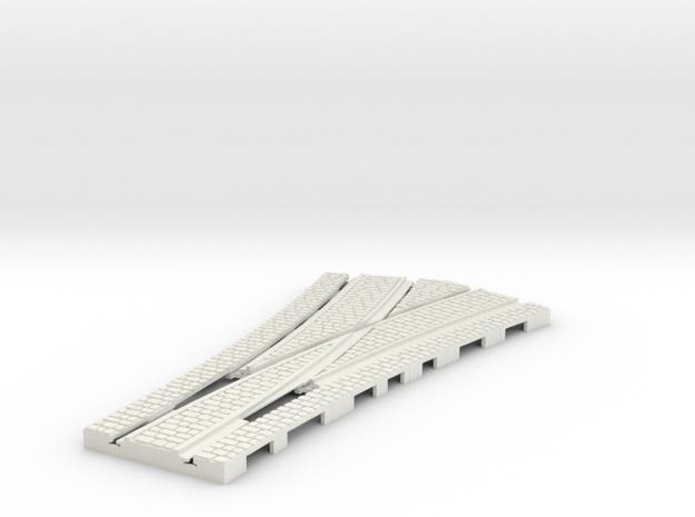 P-165stw-tram-point-half-y-100-live-w-3a in White Natural Versatile Plastic