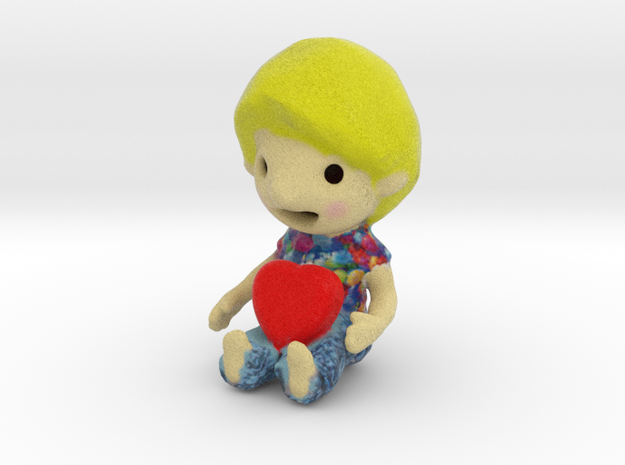 sweet kid in Full Color Sandstone