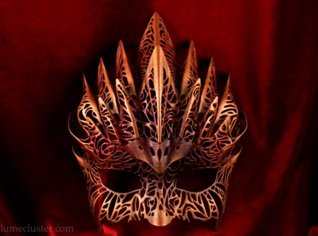 Dreamer Half Mask: Flourish (wearable)