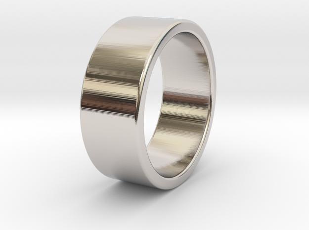 Brutus - Ring - US 9.75 - 19,5 mm inside diameter in Rhodium Plated Brass: 9.75 / 60.875