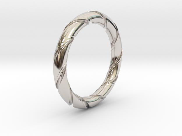Bernd - Ring - US 7¼ - 17.5mm inside diameter 3d printed