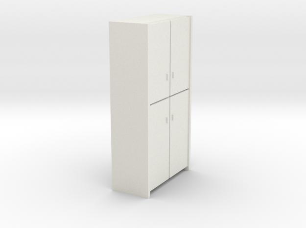 A 007 - 1 Schrank Cabinet 1:50 in White Natural Versatile Plastic