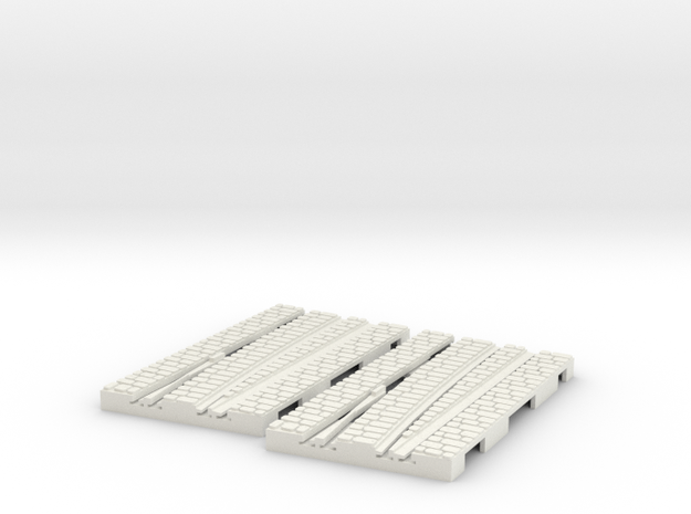 P-9-165stw-left-exchange-point-1a in White Natural Versatile Plastic