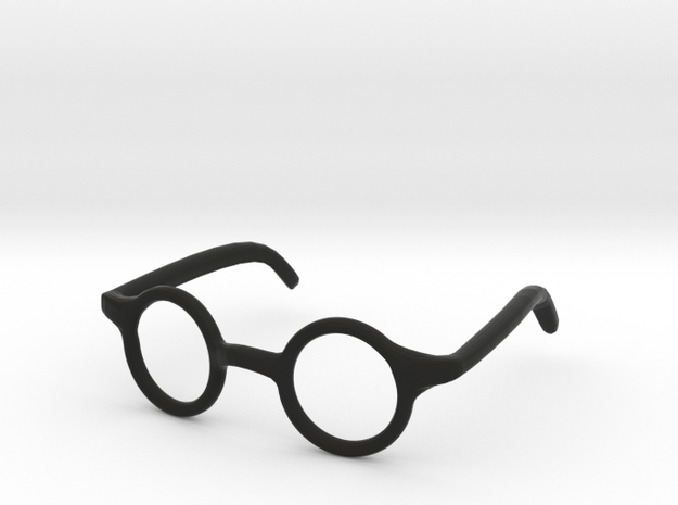 Eye Glasses Frame Circle: FOR MSD BJD doll size