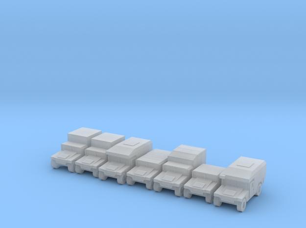 1/400 Humvee HMMWV 7 types