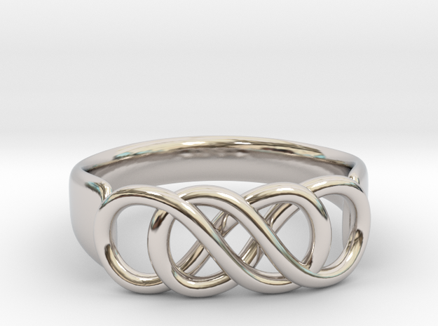 Double Infinity Ring 22.2mm V2
