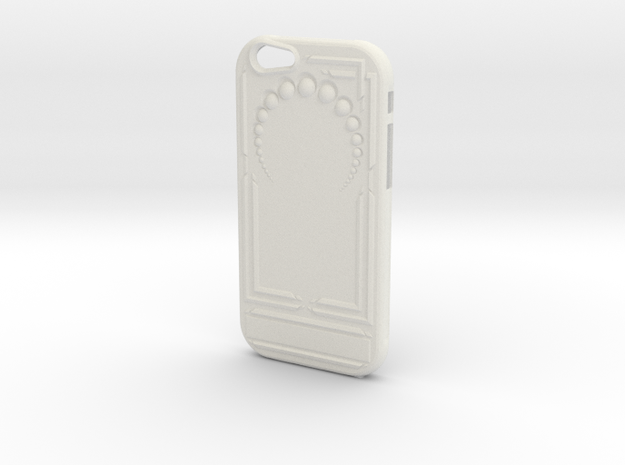Art Nouveau Iphone 6 Case in White Natural Versatile Plastic