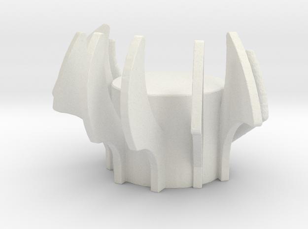 Stryfe1 in White Natural Versatile Plastic