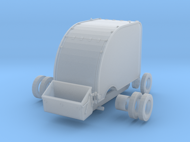 Gar Wood Bucket Loader, HO scale refuse truck in Smooth Fine Detail Plastic
