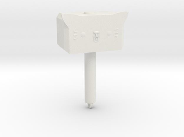 Mewnir in White Natural Versatile Plastic