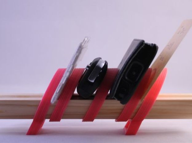324get : modular holder for your belongings in Red Strong & Flexible Polished