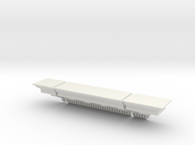 Architectural Bookshelf (Scale Model) 3d printed Store all kinds of small stuff!