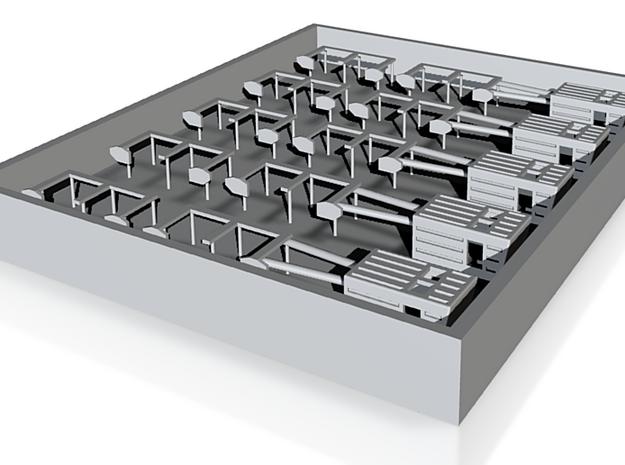 Geländer:Häuschen 3d printed