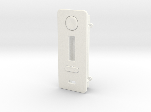 DNA200 FacePlate with with easy mount in White Processed Versatile Plastic