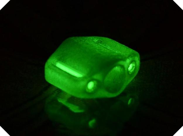 Pedal Bead Ver.1: Tritium (All Materials) 3d printed