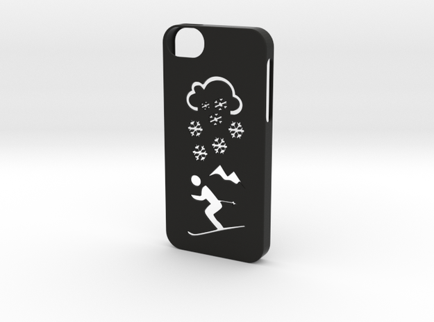 Iphone 5/5s winter case in Black Strong & Flexible