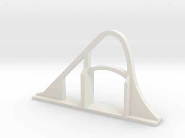 Goliath (SFGAM) Roller Coaster in White Strong & Flexible