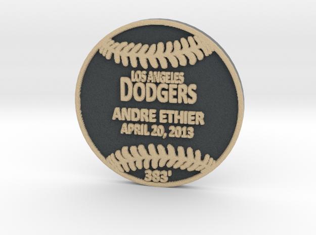 Andre Ethier in Full Color Sandstone
