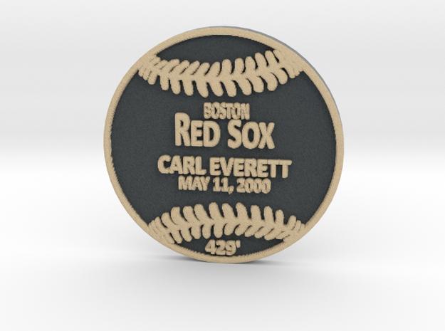 Carl Everett in Full Color Sandstone