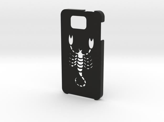 Samsung Galaxy Alpha Scorpio in Black Natural Versatile Plastic
