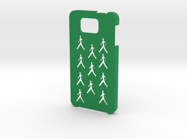 Samsung Galaxy Alpha People case in Green Strong & Flexible Polished