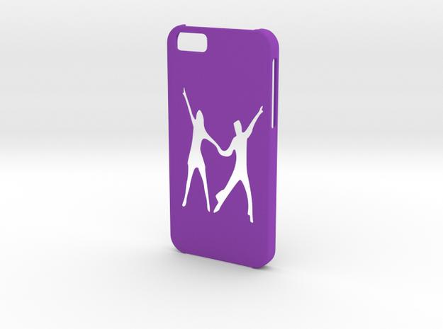 Iphone 6 Latin Dance Paso doble case in Purple Processed Versatile Plastic