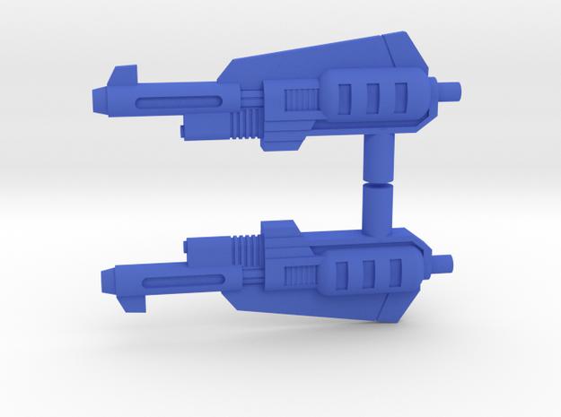 Snarl Action master guns 2X Los in Blue Processed Versatile Plastic