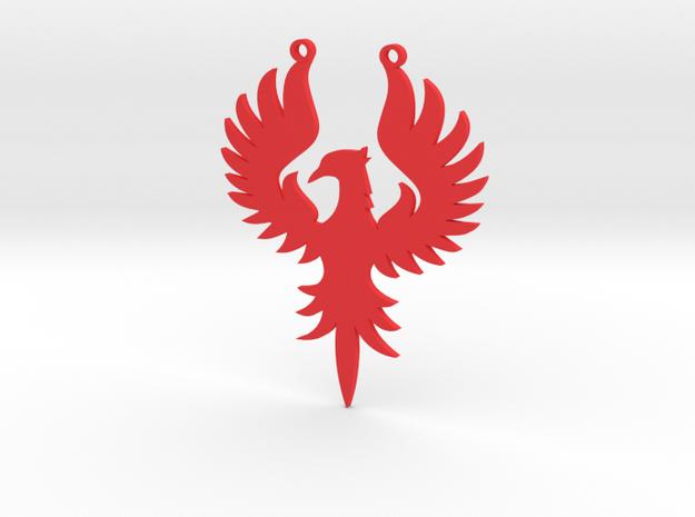 Phoenix large in Red Processed Versatile Plastic