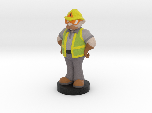 Safety Max in Full Color Sandstone