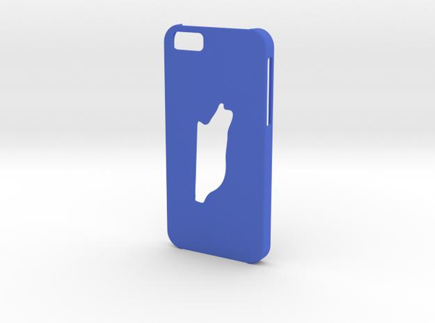 Iphone 6 Belize case in Blue Processed Versatile Plastic
