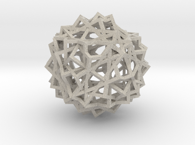 13 Cube Compound in Natural Sandstone