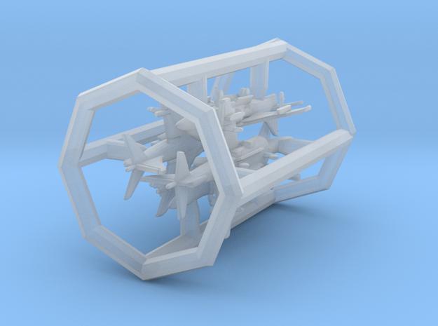 1/700 TAV-8B w/gear x4 (FUD) in Smooth Fine Detail Plastic
