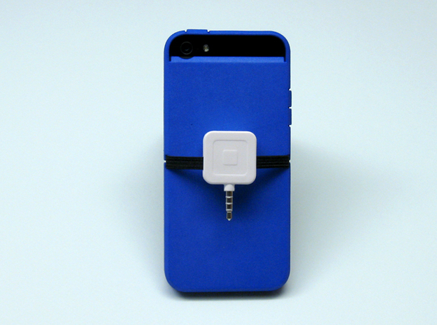 "Cariband case for iPhone 5/5s, ""holds stuff"" 3d printed Square fits nicely"