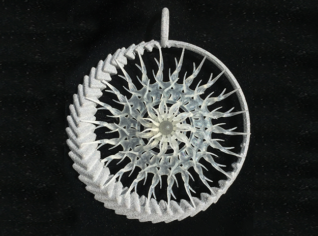 Emergence 2 pendant in Frosted Extreme Detail