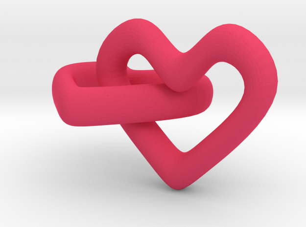 Hearts in Pink Strong & Flexible Polished