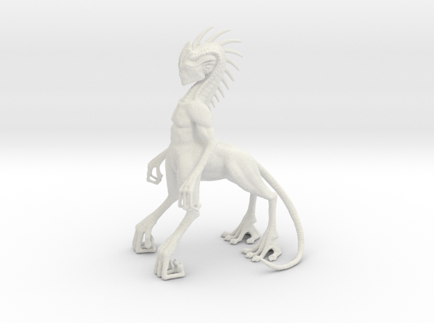 Alien Centaur in White Strong & Flexible