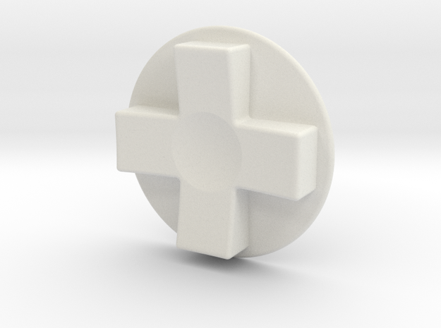 Tinker: D-Pad MK3 in White Strong & Flexible