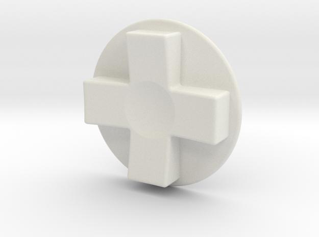 Tinker: D-Pad MK3 in White Natural Versatile Plastic