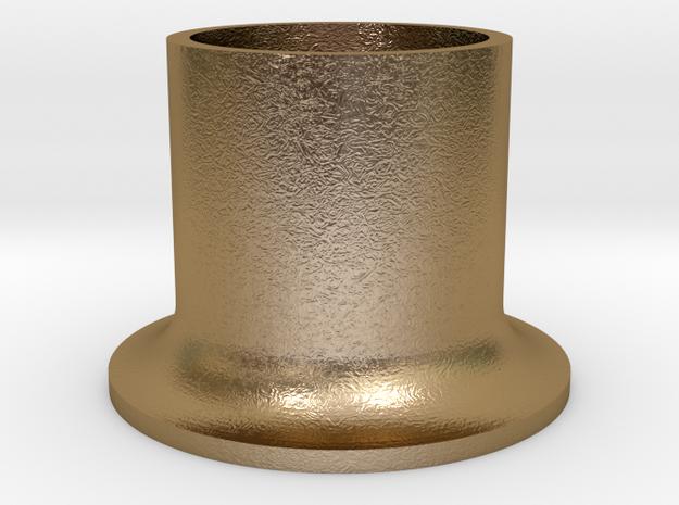 TubeFairlead AD in Polished Gold Steel