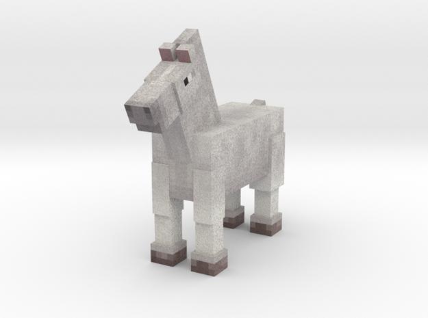 Horse 008 in Full Color Sandstone